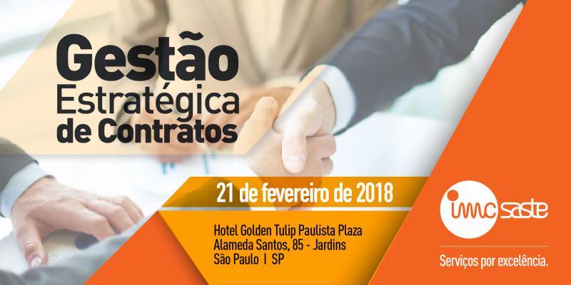IMC Saste patrocina evento em São Paulo