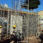 Estrutura metálica obras