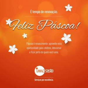 A IMC Saste deseja a todos uma Feliz Páscoa!