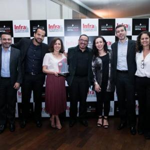 IMC Saste Facilities recebe Troféu Indicados Infra 2018